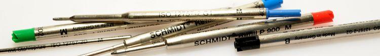 Minen-f-r-Kugelschreiber-und-Rollerball