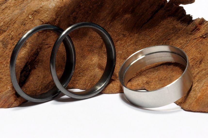 Ring-Bausatz-Anthrazit