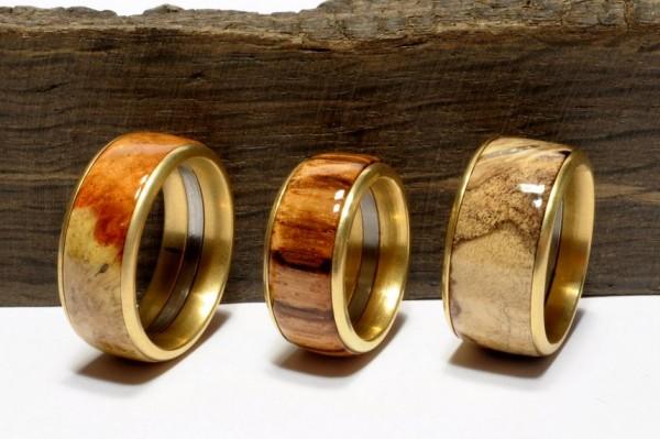 Bausatz Ringe - Gold