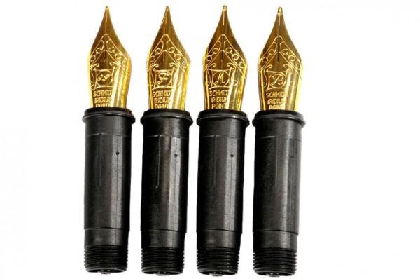 Schreibfedern Edestahl vergoldet für Hamburg Fülller