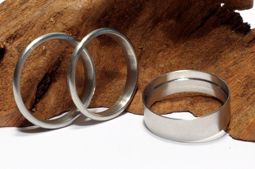 Ring-Bausatz-Edelstahl